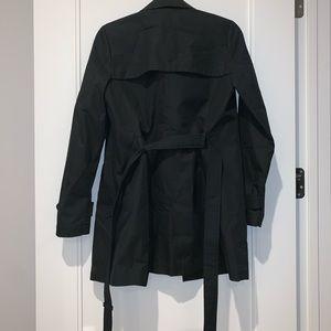 Uniqlo XS Women's Black Trench Coat